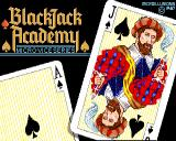 BlackJack Academy Amiga title screen