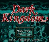 Dark Kingdom SNES Title screen