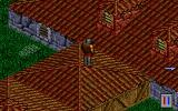 Pagan: Ultima VIII DOS Only in this game: climb on the roofs! Mostly a cosmetic addition, but who knows what you can find here?..