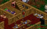 Pagan: Ultima VIII DOS The owner of this house seems to have a fondness for fish. He is also walking outside and complaining; I captured a part of his rant