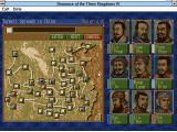 Romance of the Three Kingdoms IV: Wall of Fire Windows 3.x Choosing scenario