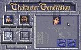Eye of the Beholder PC-98 Character creation in progress
