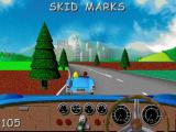 Action SATS Learning: Key Stage 1 4-7 Years: Phonic Spelling Windows Playing the mini game 'Skid Marks'