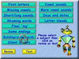 Action SATS Learning: Key Stage 1 4-7 Years: Phonic Spelling Windows Each level can be revised, i.e. played on its own, and the pupil can take a test