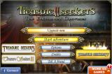 Treasure Seekers II: The Enchanted Canvases iPhone Title and main menu