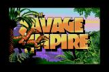 Worlds of Ultima: The Savage Empire Sharp X68000 Title screen