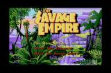 Worlds of Ultima: The Savage Empire Sharp X68000 Main menu