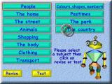 Action SATS Learning: Key Stage 1 4-7 Years: Words Windows These are the topics / levels of the game