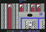 A.L.C.O.N. Commodore 64 The bomb weapon has a really small range (the black dot in front of the ship) (NTSC)