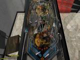 Dream Pinball 3D Windows Ready to shoot (note the spring at the bottom left corner. Ball launch degree of force can be chosen)