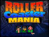 Roller Coaster Mania Windows The game's menu screen follows the load screen