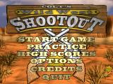 Colt's Wild West Shootout Windows Main menu