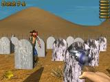 Colt's Wild West Shootout Windows Among tombstones