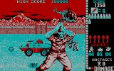 Operation Wolf DOS Another game scene with alternative CGA colors
