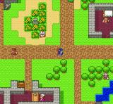 Dragon Quest I & II SNES Visiting a town (DQ)