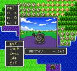 Dragon Quest I & II SNES Fighting a shadow in poison fields (DQ)