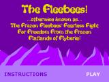 The Fleebees! Browser The game's title screen