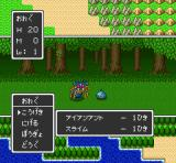 Dragon Quest I & II SNES ... and even enemies of various kinds together (DQ2)