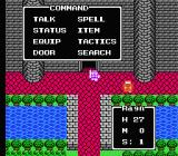Dragon Warrior IV NES Command menu