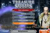Treasure Seekers: The Time Has Come iPhone Title and main menu
