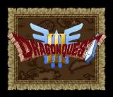 Dragon Warrior III SNES Japanese Title screen