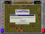 Landmine Windows As the game exits there is a reminder to register the shareware game