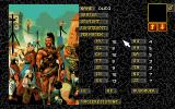 Realms of Arkania: Blade of Destiny DOS Character creation screen