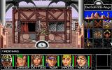 Realms of Arkania: Blade of Destiny DOS Another day, another town - and yes, it looks exactly the same as Thorwal. Graphical variety is not this game's forte...