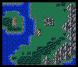 Dragon Warrior III SNES World map