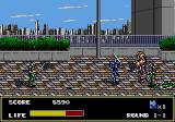 Mazin Saga: Mutant Fighter Arcade Multiple enemies
