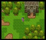 Dragon Warrior III SNES In a quiet secluded house