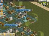 Transport Tycoon iPad I have set up a bus line in town.