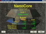 NanoCore Windows The title screen is also the high score screen