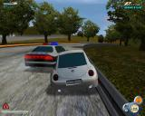 City Racer Windows pursuit with police car