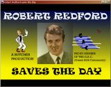 Robert Redford Saves the Day: Episode 2 - The Pit and the Pendulum Windows Title screen, part one