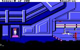 Space Quest: Chapter I - The Sarien Encounter DOS Roger Wilco and a Sarien