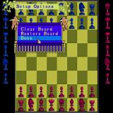 Battle Chess Sharp X68000 Setup options