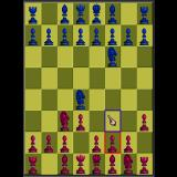Battle Chess Sharp X68000 2D board
