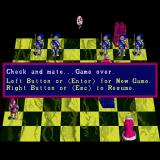 Battle Chess Sharp X68000 Check and mate