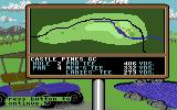Jack Nicklaus' Greatest 18 Holes of Major Championship Golf Commodore 64 An overhead view of a hole