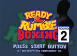 Ready 2 Rumble Boxing: Round 2 Dreamcast Title Screen