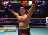 Ready 2 Rumble Boxing: Round 2 Dreamcast Bill wins with an odd lock on his face