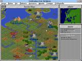Sid Meier's Civilization II Windows 3.x Playing the WWII scenario (Spanish language)