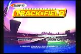ESPN International Track & Field Dreamcast Title Screen