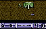 Blazing Thunder Commodore 64 The end of level one boss