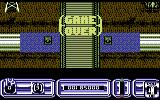 Blazing Thunder Commodore 64 Game over