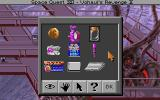 Space Quest IV: Roger Wilco and the Time Rippers DOS Over the course of the game, you'll accumulate quite a few items... The inventory here is superimposed over the game's final location