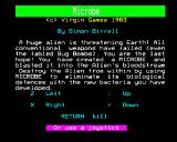 Microbe BBC Micro Instructions