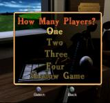 Peter Jacobsen's Golden Tee Golf PlayStation How Many Players? One!