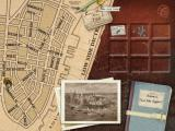 Jack the Ripper Windows Navigation Map - dragging notes from your inventory to the pushpins on the map make new locations available